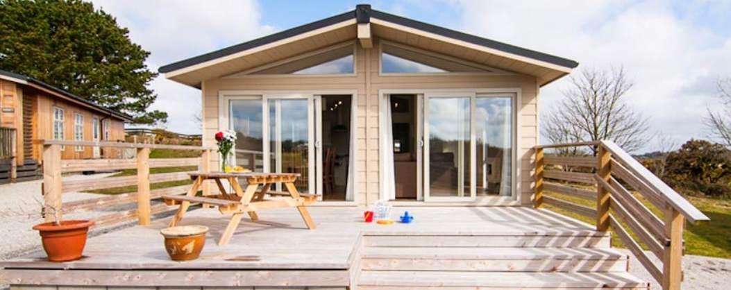 External Lodge Caddys Corner, Carnmenellis, Nr Falmouth, South Cornwall