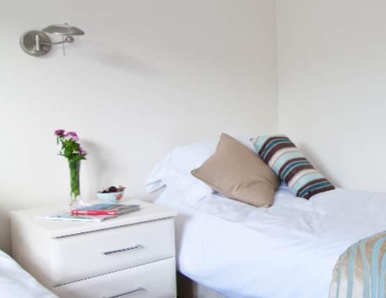 Bedroom Caddy's Corner Lodges Cornwall Holiday